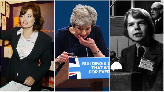 Party conferences collage