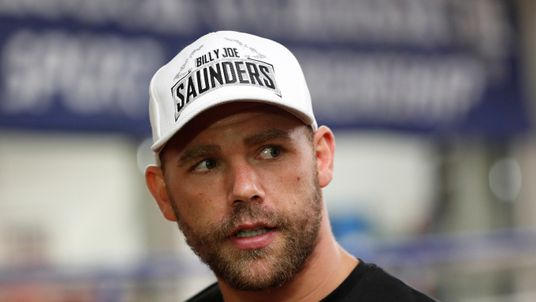 Saunders is due to fight next on 20 October in Boston