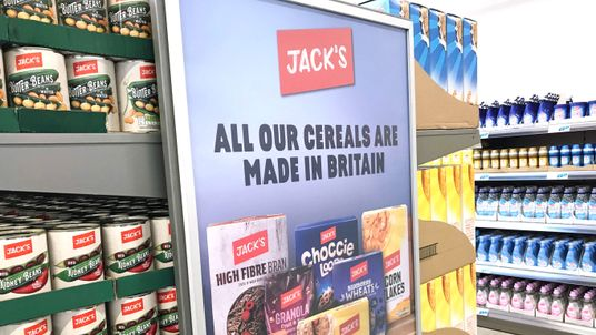 Picture of newly opened, Tesco-owned Jack's store in Chatteris, Cambridgeshire, September 19, 2018.
