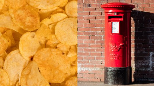 Crisps were put in the letterbox
