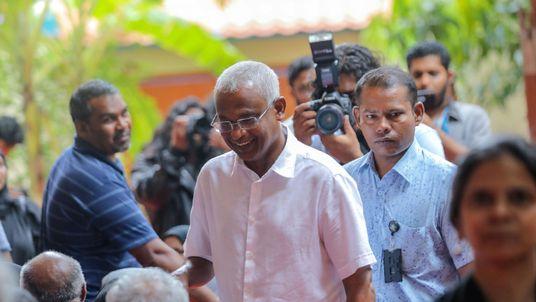 Opposition leader Mohamed Solih