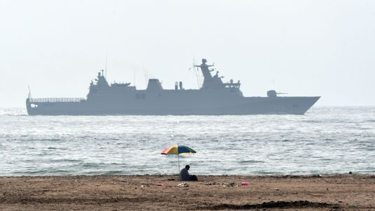 The Moroccan navy fired at the speedboat. File pic