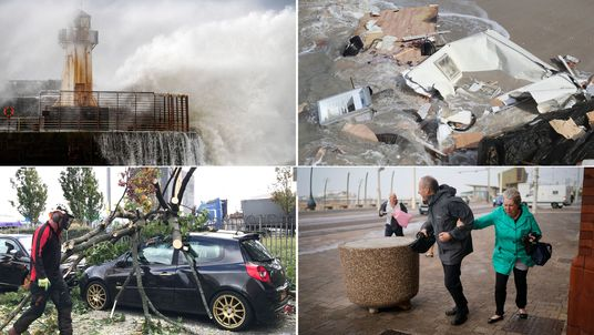 Ireland, northern Ireland, Scotland and northeast England was hit hard by Storm Ali