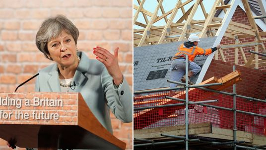 Theresa May is pledging a £2bn handout to housing associations