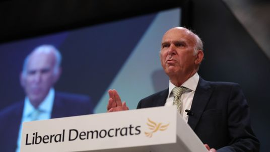 Even Sir Vince Cable admitted the Lib Dems are very male and very pale