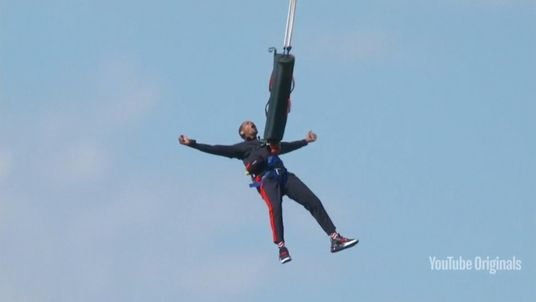 Will Smith did the jump for his 50th birthday