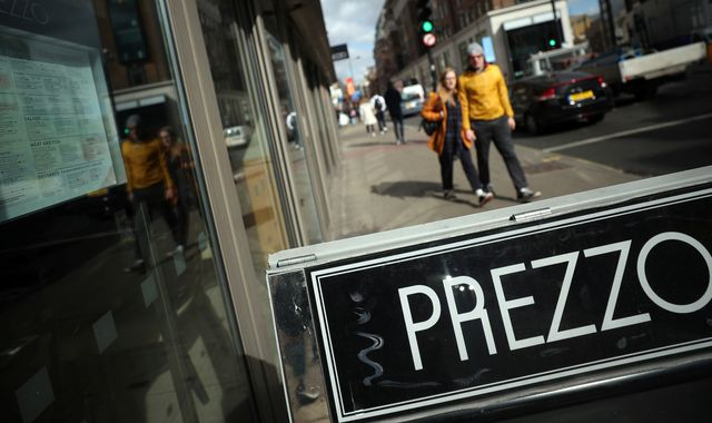 Coronavirus: Restaurant chain Prezzo latest to kick off sale process