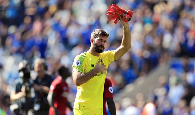 Alisson Becker claims Liverpool feel no pressure in Premier League title race