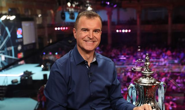 Dave Clark: Stepping away from role as presenter of Sky Sports darts coverage