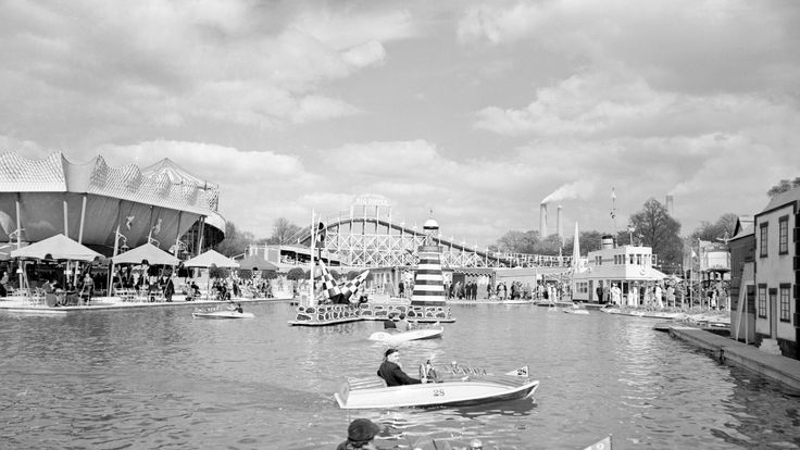 Part of the events of the 1951 Festival of Britian included a fun fair in Battersea Park