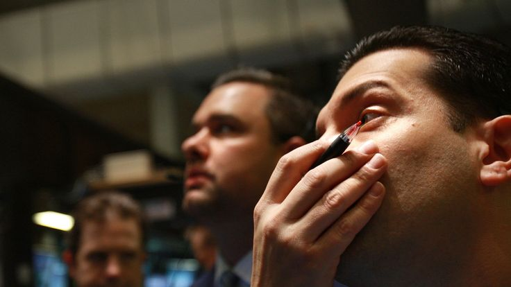 Traders on the New York Stock Exchange were left anxious as the crash began to unfold in 2008