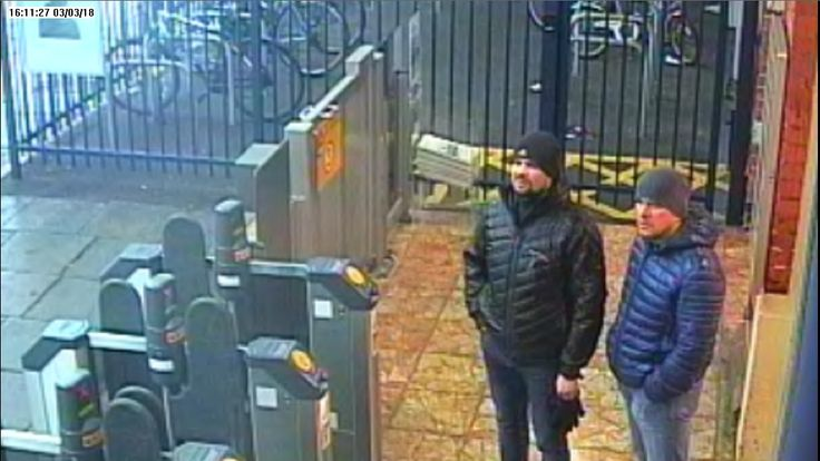 CCTV3 = image of both suspects at Salisbury train station at 16:11hrs on 03 March 2018