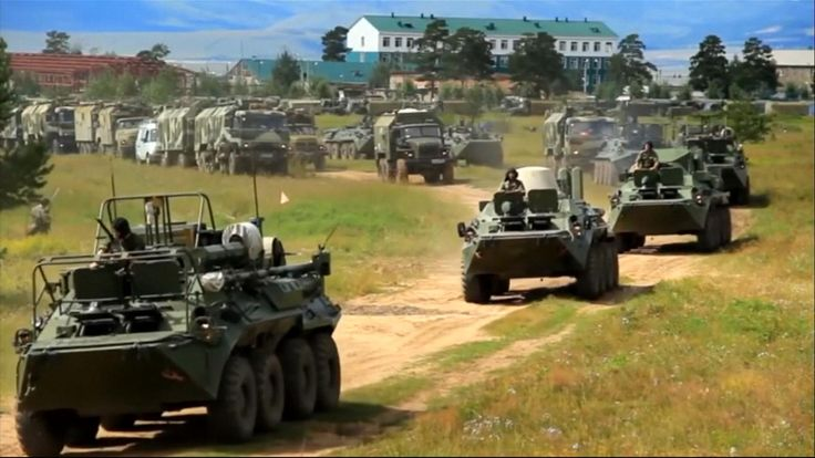 The exercises are taking place in Vastok