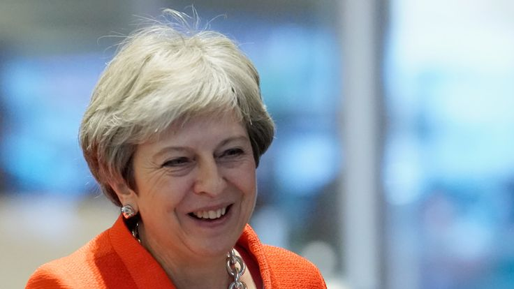 Theresa May made the announcement as the Tory party conference began