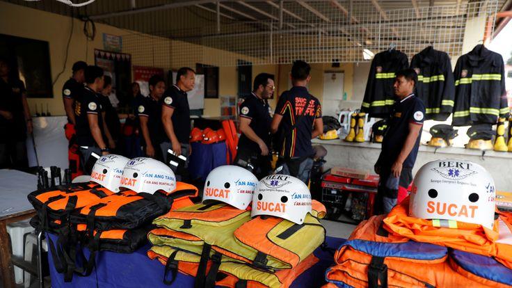 Typhoon Mangkhut: Storm's path of destruction