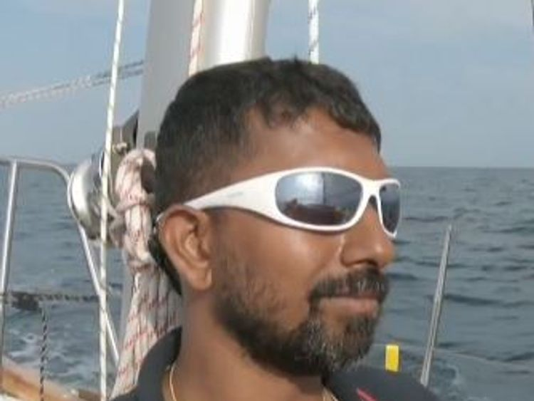 Injured solo sailor stuck 2,000 miles from land