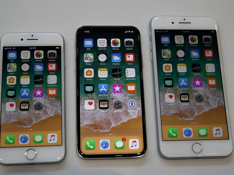 Apple unveiled the new iPhone 8 iPhone 8S and iPhone X at its launch event in California last year