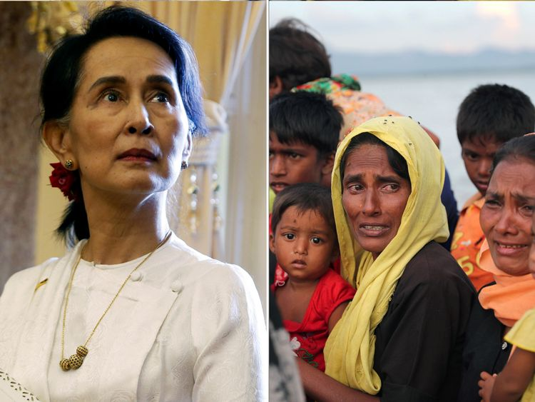 aung san suu kyi admits myanmar 39 s rohingya crisis could have been handled better. Black Bedroom Furniture Sets. Home Design Ideas