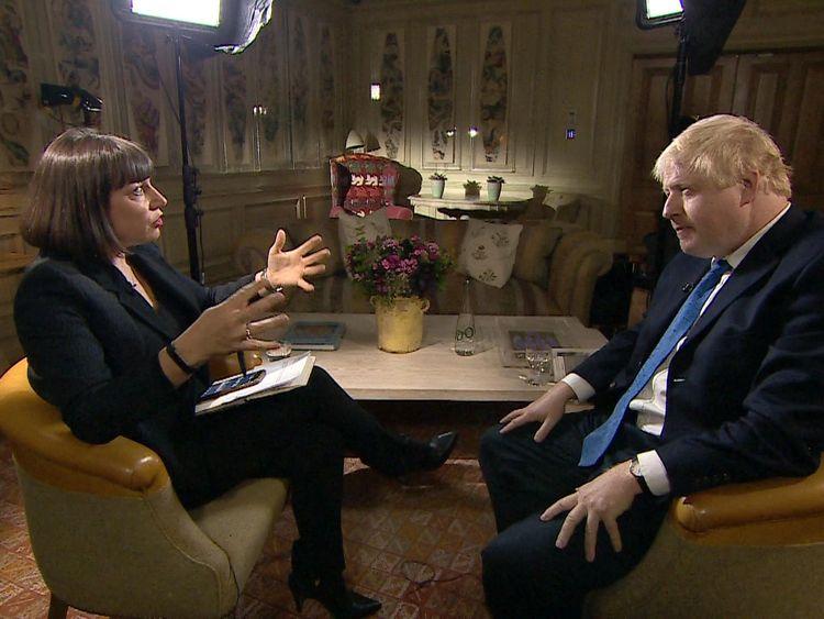 Johnson backs Sky News' election TV debate campaign