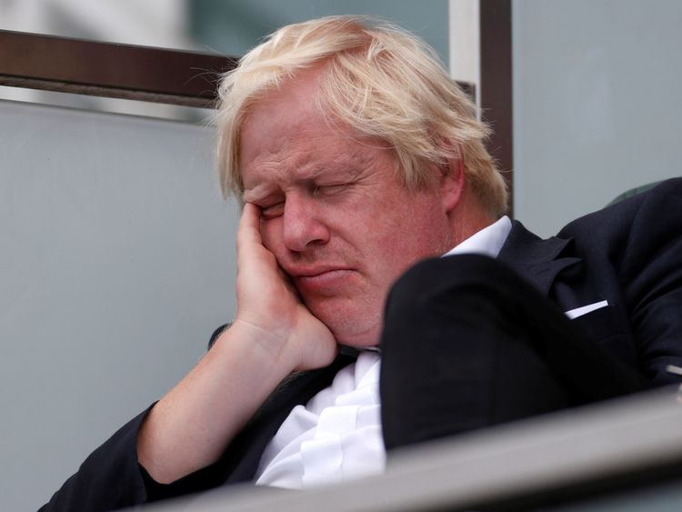 Leader comment: Brexit is no more than a game to Boris