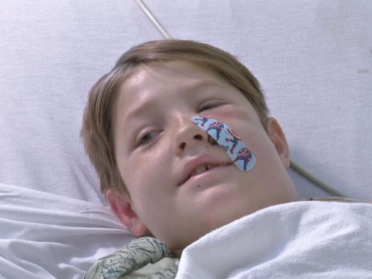Doctors believe Xavier could completely recover from his injuries. Pic: Medical News Network