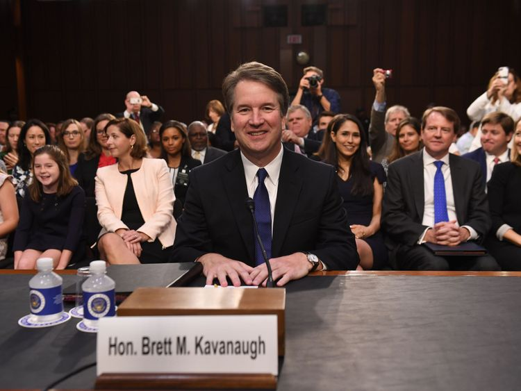 Brett Kavanaugh's Second Day of Supreme Court Confirmation Hearings