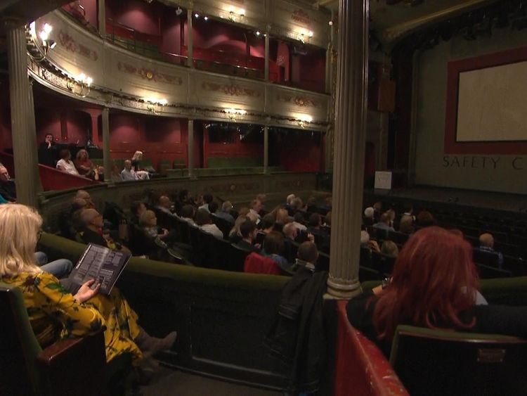 New era for 'everyone' as historic theatre reopens