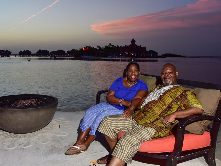 Student raised money so Mr Gordan and wife could visit Jamaica
