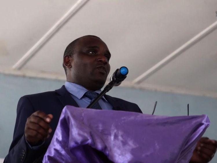 Charles Masunungure, commissioner of Zimbabwe's Peace and Reconciliation Commission