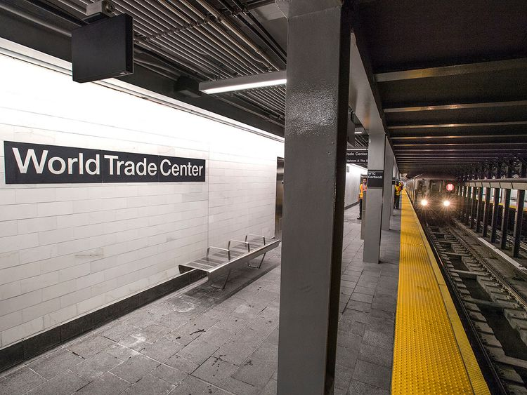 The Metropolitan Transportation Authority (MTA) opened the new WTC Cortlandt subway station on Saturday, September 8, 2018. Pic: MTA New York