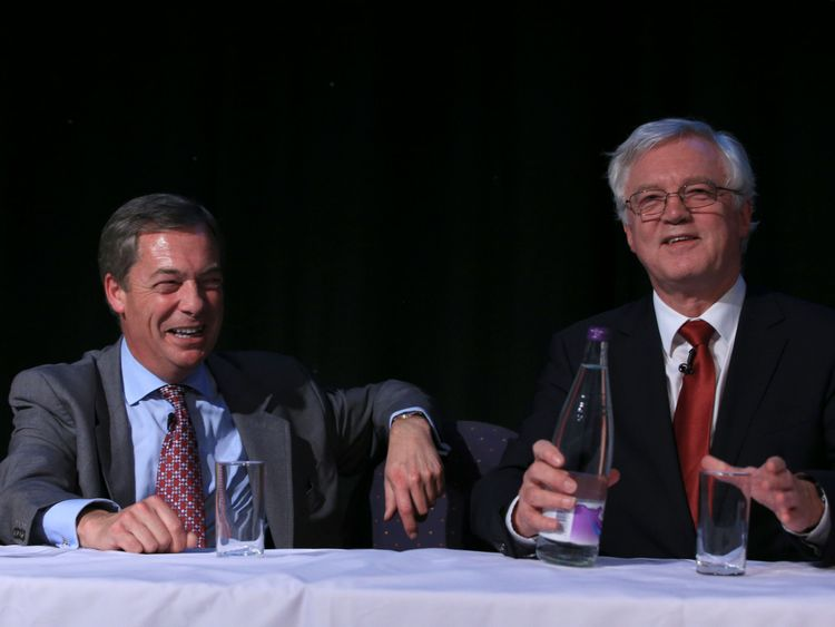Farage launches campaign against 'Brexit betrayal'
