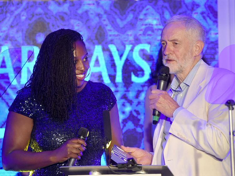 Dawn Butler sparks row at Labour Party Conference