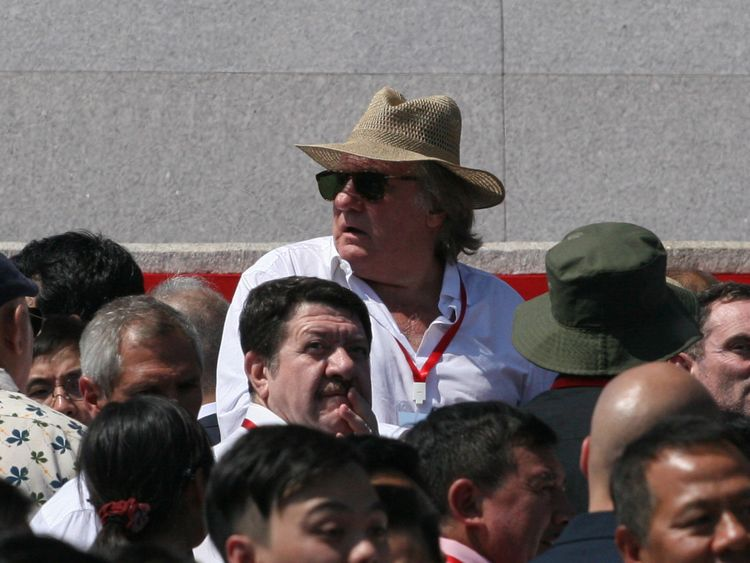Mr Depardieu allegedly said he wanted citizenship