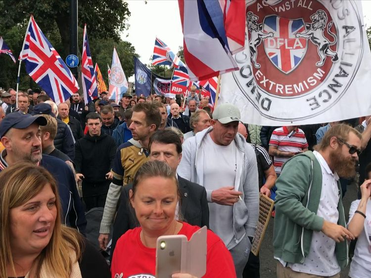 The Democratic Football Lads Alliance shares many similarities with the EDL founded by Tommy Robinson almost a decade ago.