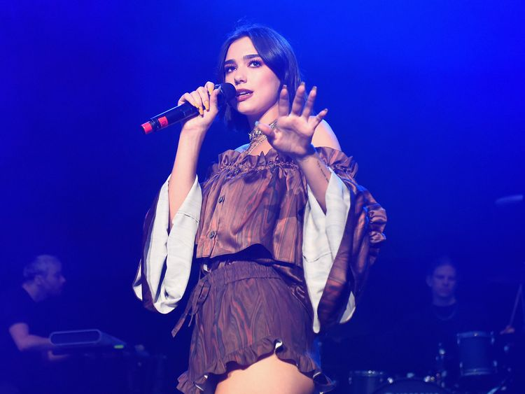 Dua Lipa fans removed from China gig over 'LGBT flags'