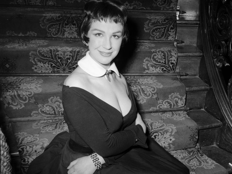 Fielding, pictured in 1955, also had several TV and theatre roles