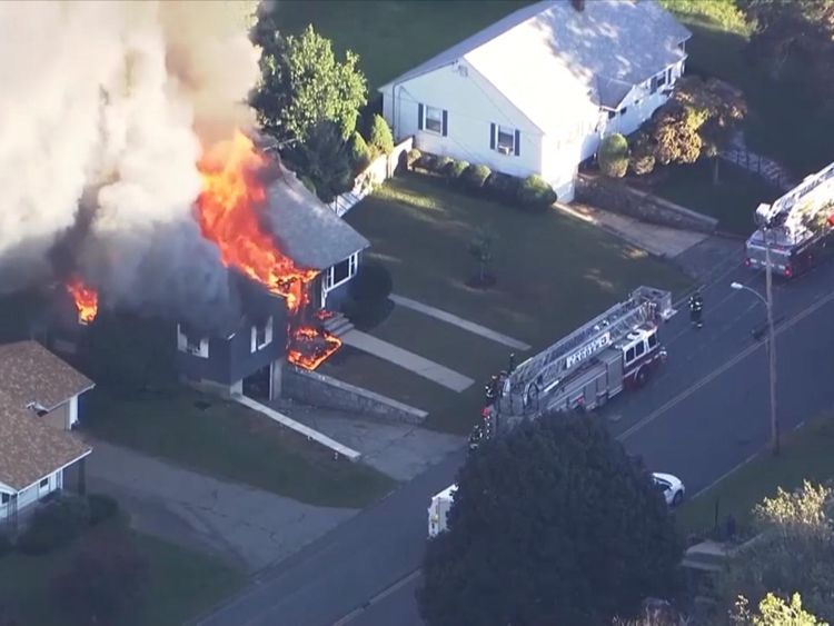 Dozens Of Fires, Explosions Break Out In Massachusetts Towns