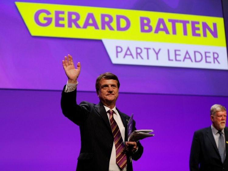 Tommy Robinson becomes adviser to UKIP leader Gerard Batten