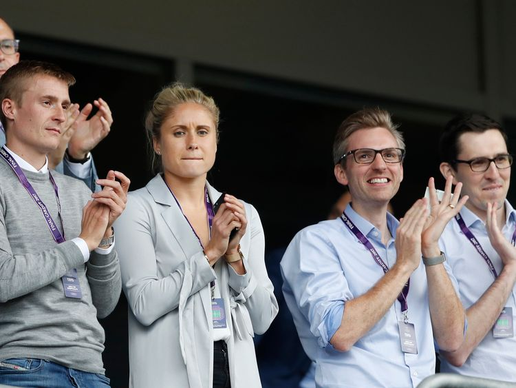 Britain Football Soccer - Olympique Lyonnais v Paris Saint Germain - UEFA Women's Champions League Final - Cardiff City Stadium, Cardiff, Wales - 1/6/17 England's Steph Houghton in the stands before the match Action Images via Reuters / Carl Recine Livepic EDITORIAL USE ONLY.