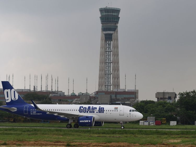 The man tried to open the rear exit of the GoAir plane, mistakenly thinking it was the toilet