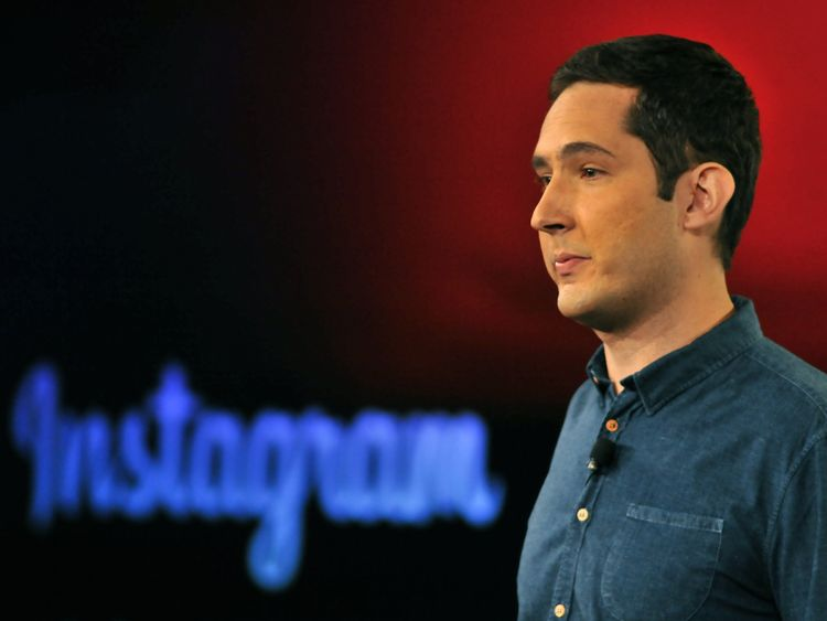 Kevin Systrom is a co-founder and chief executive of Instagram