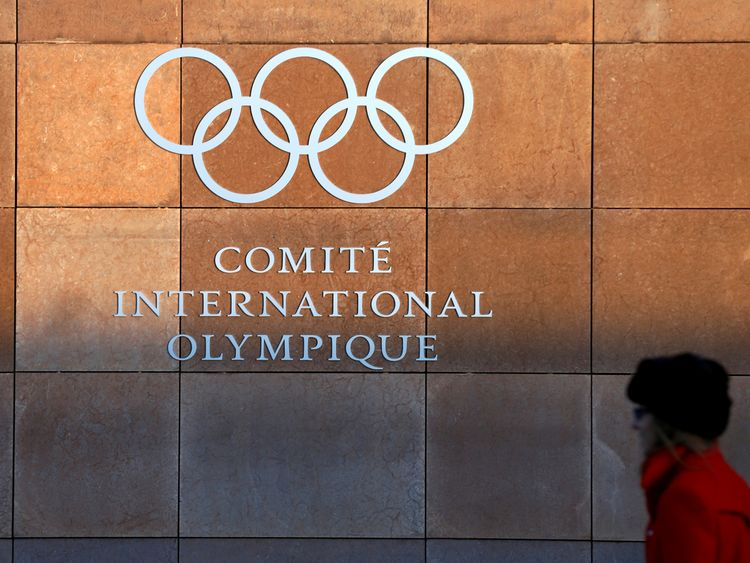 The headquarters of the International Olympic Committee