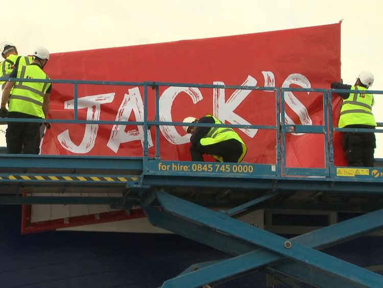 Jack's store is an Aldi and Lidl tribute act