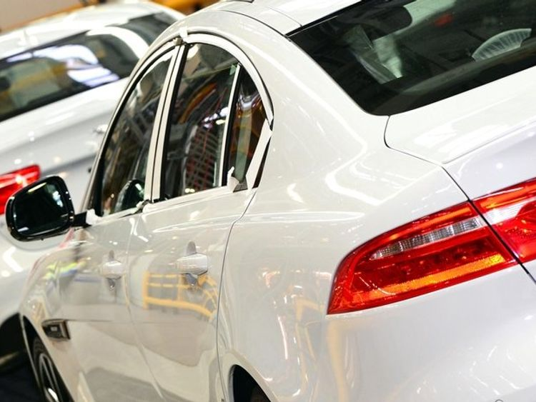 The Jaguar XE is among the models produced at Castle Bromwich. Pic: JLR