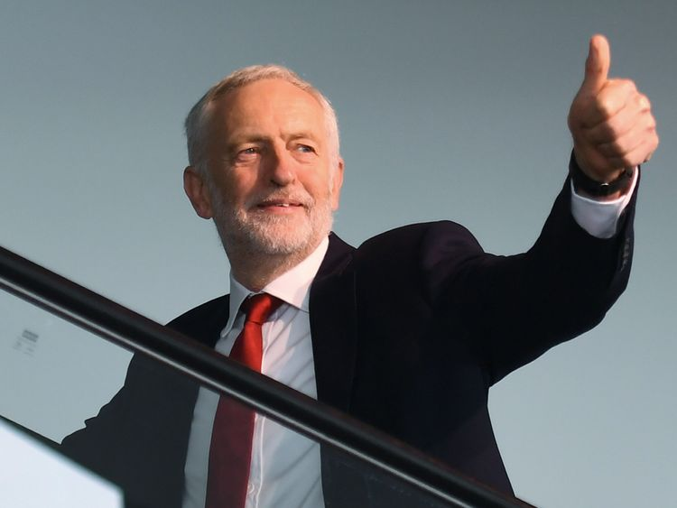 Jeremy Corbyn will tell Michel Barnier there cannot be a 'no-deal' Brexit