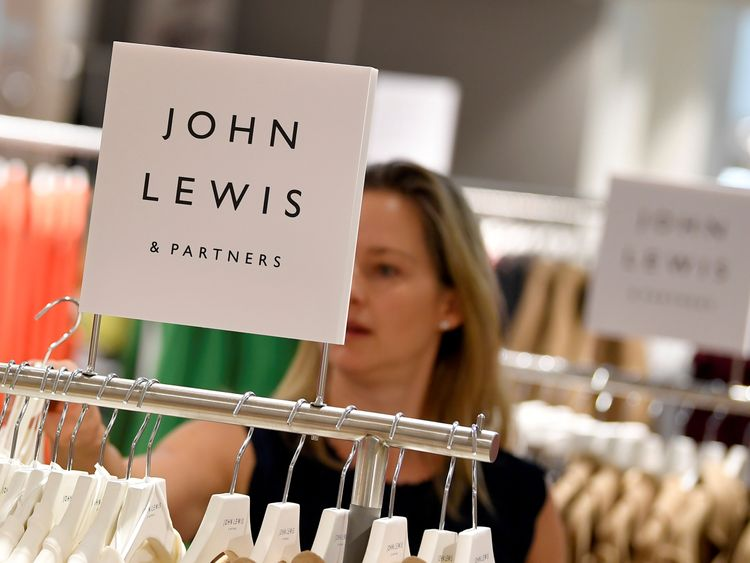 John Lewis half-year profits slump by 99%