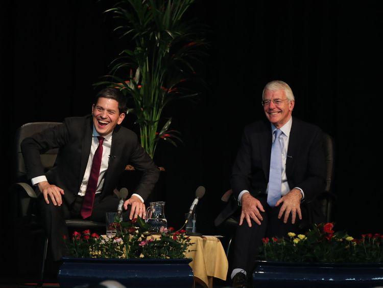 Miliband and Major call for second EU referendum