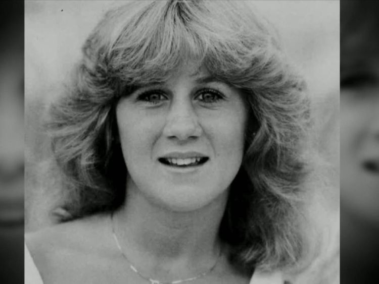 A yearbook photo of Christine Blasey from around the time she alleges the offence took place