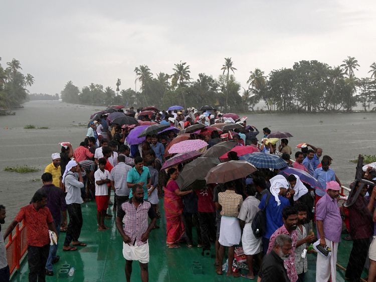 A total of 1.4m people were forced from their homes during the 2018 monsoon season in Kerala