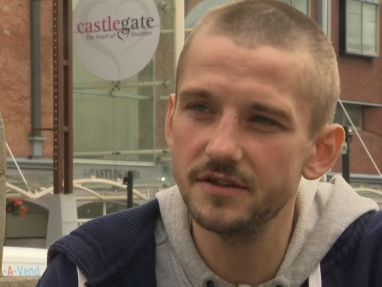 Lewis Donachie says his health problems are linked to a struggle to find work
